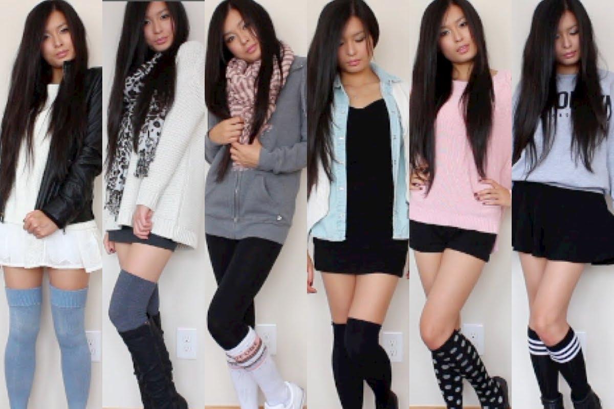 11 Different Patterns for Knee High Socks - Patterns Hub