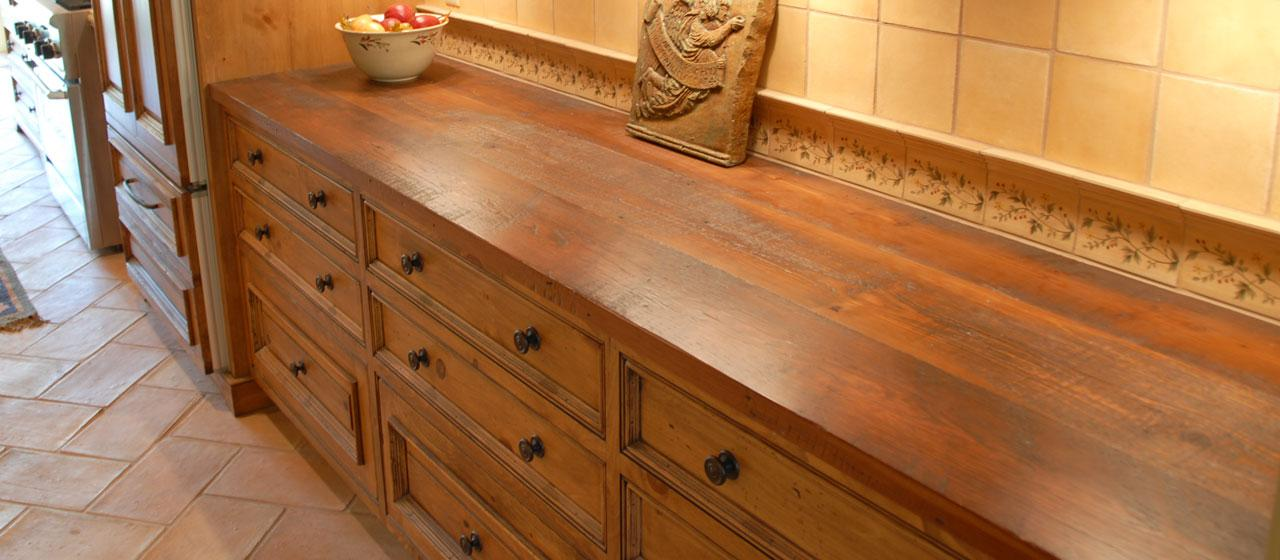 20 ideas for installing a wooden countertop at your home Reclaimed wood furniture portland oregon