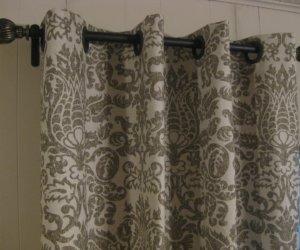 No-Sew Grommet Window Curtain Panel
