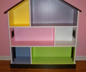 Diy Dollhouse from Bookcase