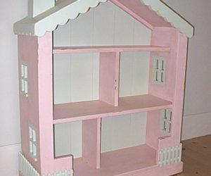dollhouse shaped bookshelf