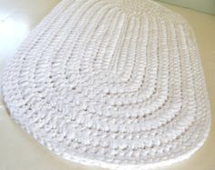Crocheted Rag Rugs