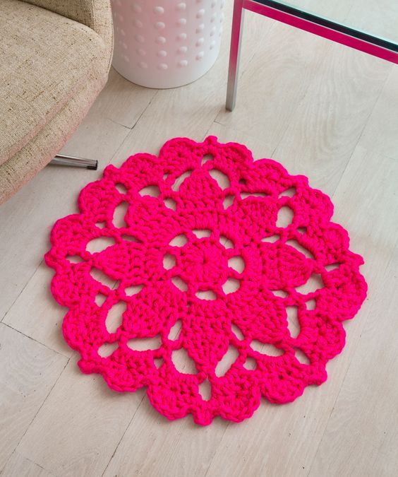 24 Creative & Useful Crochet Rug Patterns