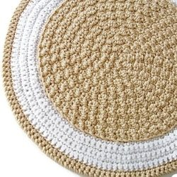 The Crocheted Round Rug Pattern