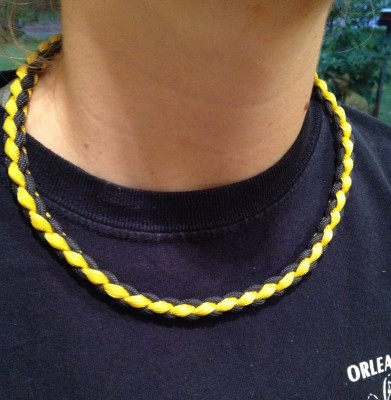 22 Amazing Paracord Necklace Patterns For Your Next Diy