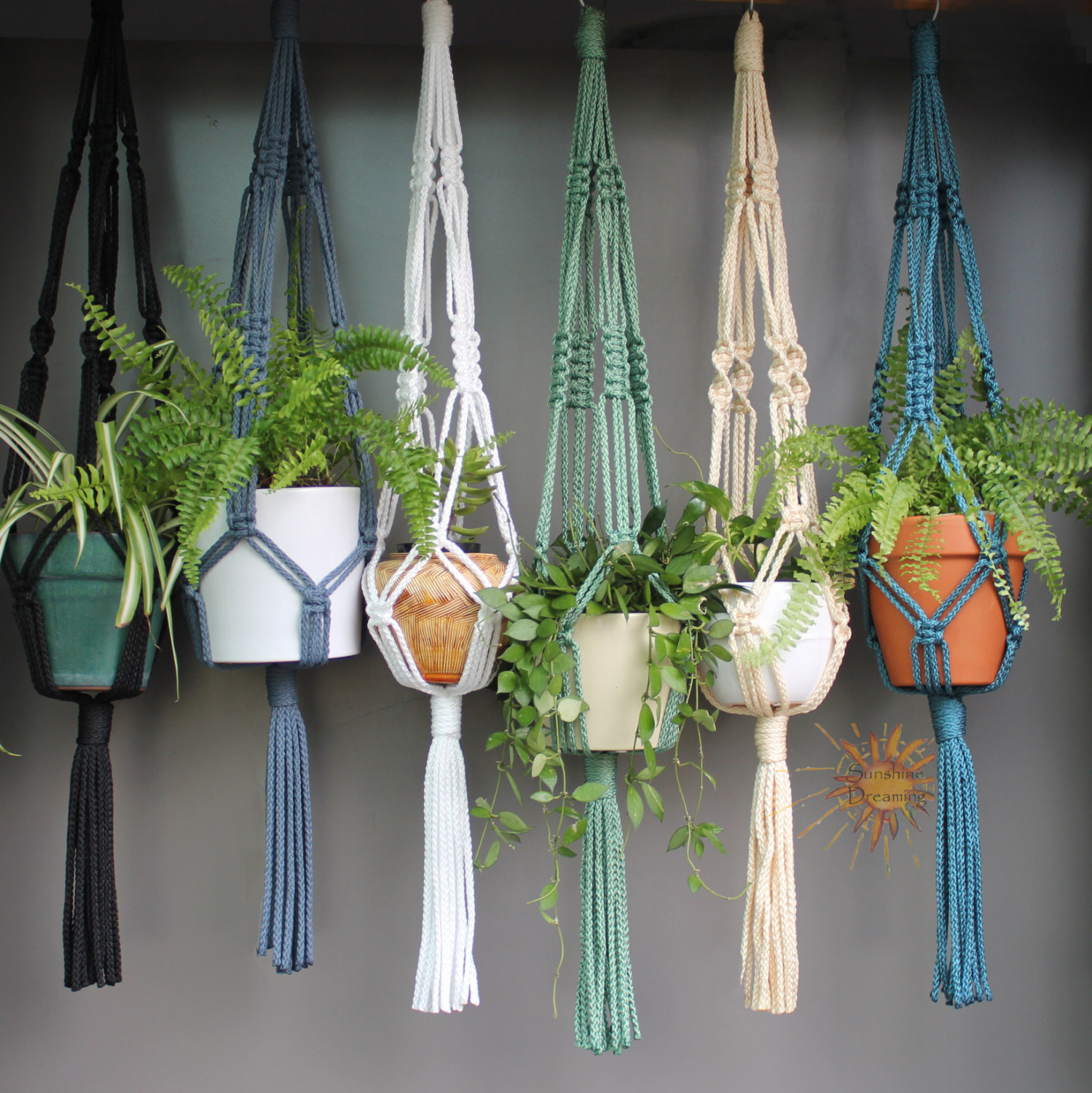 19 Macramé Plant Hanger Patterns & Instructions - Patterns Hub
