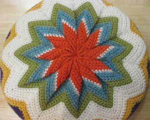 Crochet Pattern for Pillow