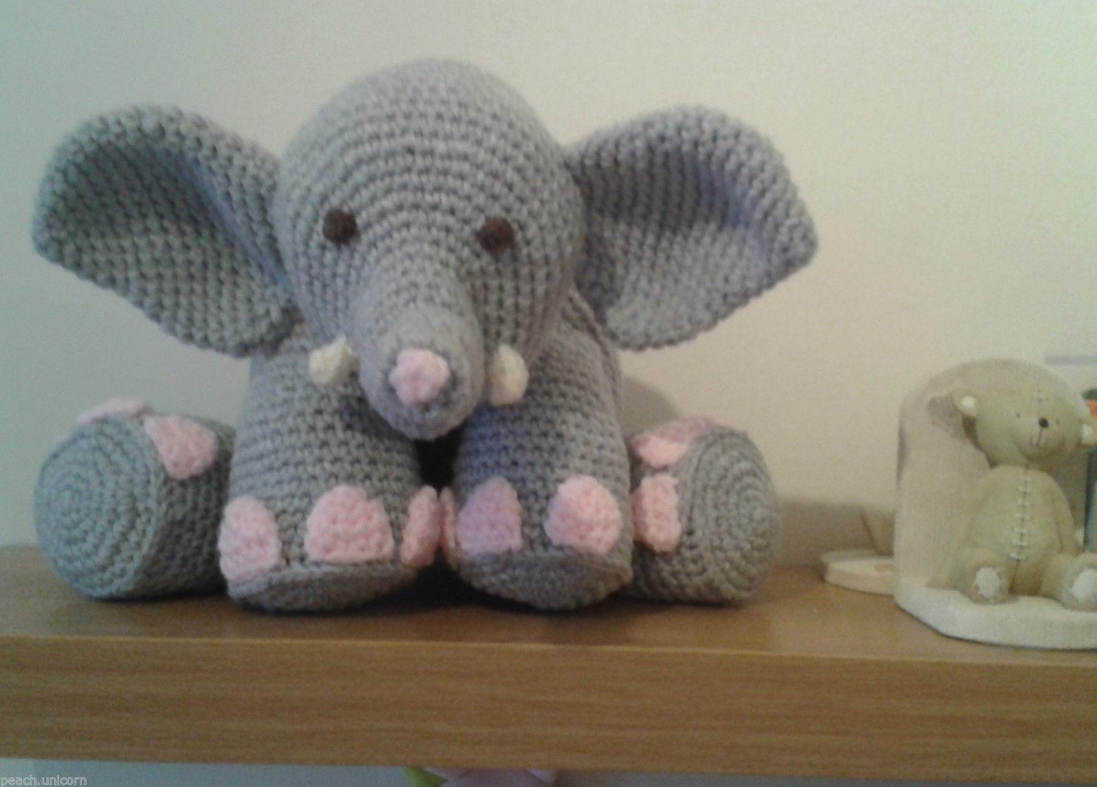 Crochet Elephant Pillow Pattern - Crochet News   1148x1600