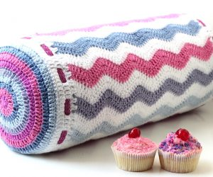 crochet bolster pillow pattern free